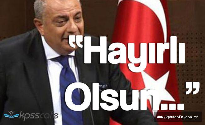 """Kabine Dışında Tutulan Türkeş :"""" Hayırlı Olsun"""""""