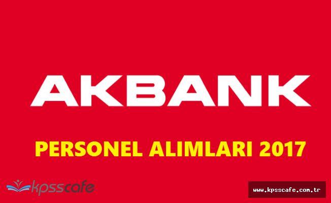 AKBANK Personel Alımlarında Başvurular Sürüyor! (50 Açık Pozisyon)
