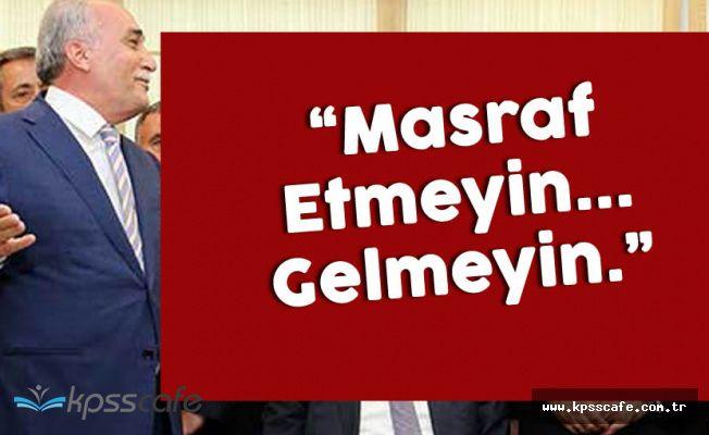 Yeni Bakanın Attığı Tweet Çok Konuşuldu! 'Masraf Etmeyin'