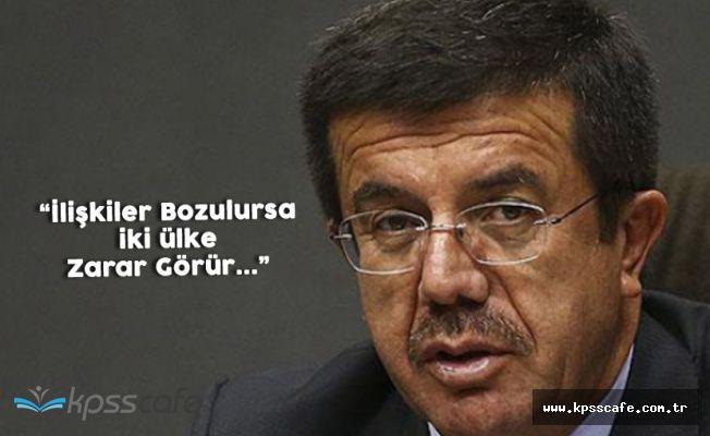 Ekonomi Bakanı Zeybekçi'denAlmanya Mesajı