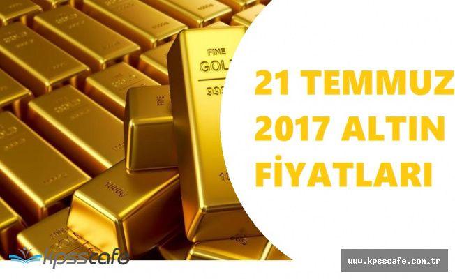 Altın Fiyatlarında Yükseliş Gözlemlendi! 21 Temmuz 2017 Güncel Fiyatlar