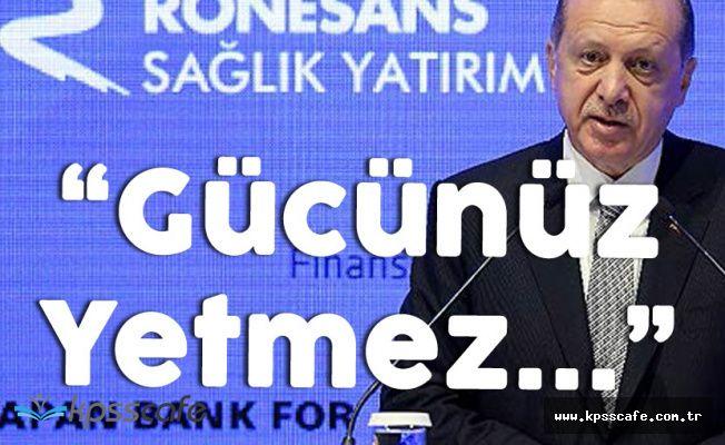 Cumhurbaşkanı Erdoğan'dan Almanyaya Çok Sert Tepki