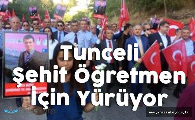 CHP'nin Tunceli'deki 'Teröre Lanet Yürüyüşü' Başladı