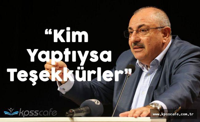 Görevden Alınan Türkeş'ten İddialara Yanıt 'Devlet Bey Yaptıysa Teşekkür Ederim'