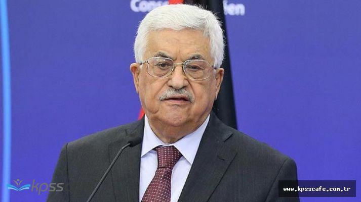 Filistin Devlet Başkanı'ndan Flaş Açıklama 'Resmi İletişimi Kestik'