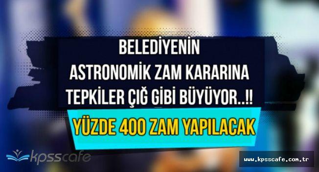 Beşiktaş Belediyesinin Emlak Vergisine Astronomik Zammına Tepkiler Büyüyor