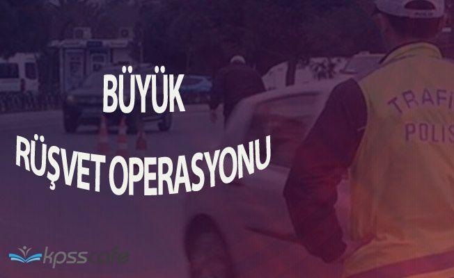 İstanbul'da Trafik Polislerine Şok' Rüşvet Operasyonunda 114 Kişi Gözaltında
