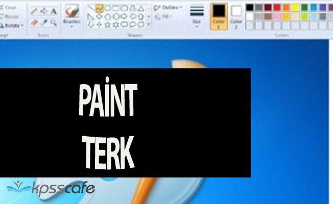 Artık Herkes 'Paint Terk' Olacak