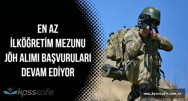 Jandarma Özel Harekat (JÖH) Alımı Başvuruları Devam Ediyor (Başvuru Şekli)