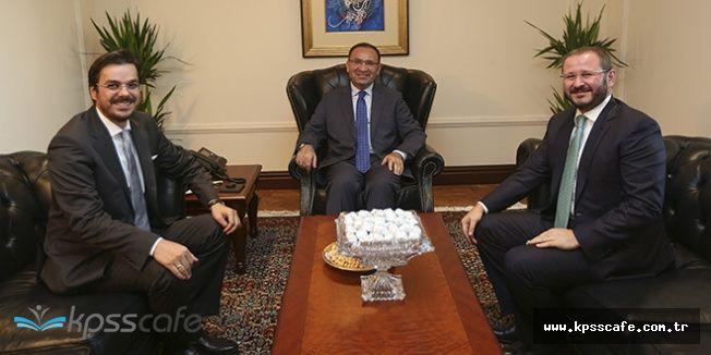 Başbakan Yardımcısı Bozdağ'a AA ve TRT Genel Müdüründen 'Hayırlı Olsun' Ziyareti