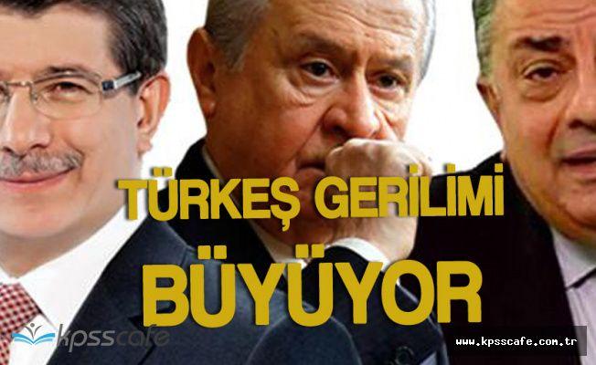 Devlet Bahçeli ve Davutoğlu Arasında 'Türkeş' Gerilimi Büyüyor
