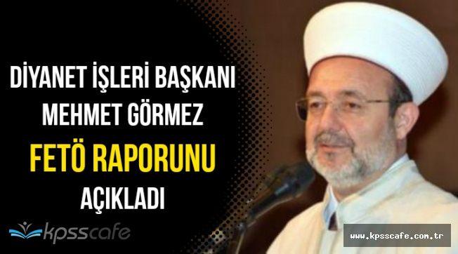 Mehmet Görmez Diyanet'in FETÖ Raporunu Kamuoyuna Açıkladı