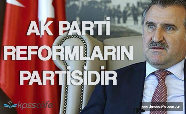 """Bakan Osman Aşkın Bak:"""" Yeni Yeni Atılımlar Yapılıyor"""""""