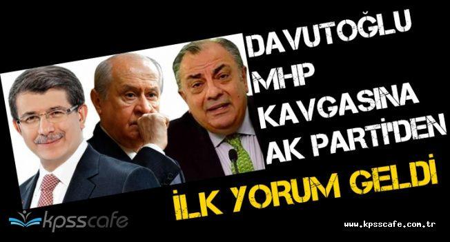 Davutoğlu ile MHP Arasındaki Tuğrul Türkeş Tartışmasına AK Parti'den İlk Yorum