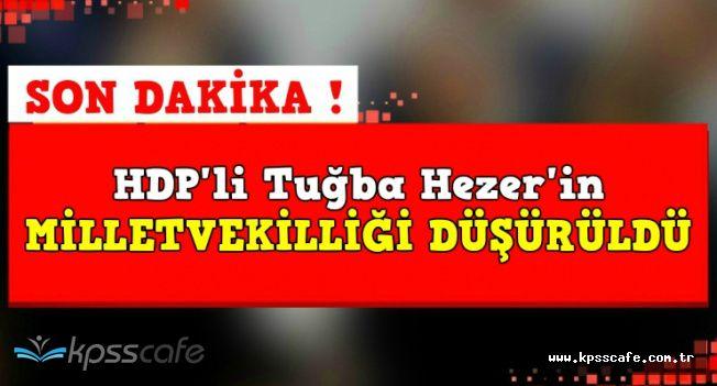 HDP Van Milletvekili Tuğba Hezer Öztürk'ün Vekilliği Düşürüldü