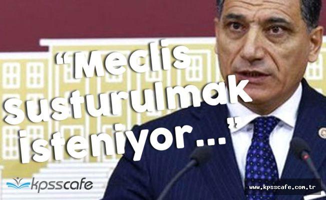 "Isparta Milletvekili Okutan ""Meclis Susturulmak İsteniyor"""