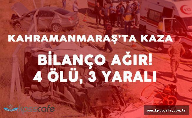 Taziye Ziyareti Dönüşünde Korkunç Kaza ! 4 Kişi Öldü 3 Kişi Yaralandı