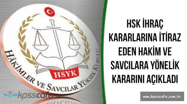 İhraç Kararına İtiraz Eden Hakim ve Savcılara Yönelik Verilen Karara Resmi Gazetede
