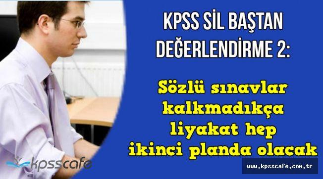 Yeni KPSS ve Memur Alımı Değerlendirmesi 2: GK ve GY ile Alan Sınavlarında Değişiklik