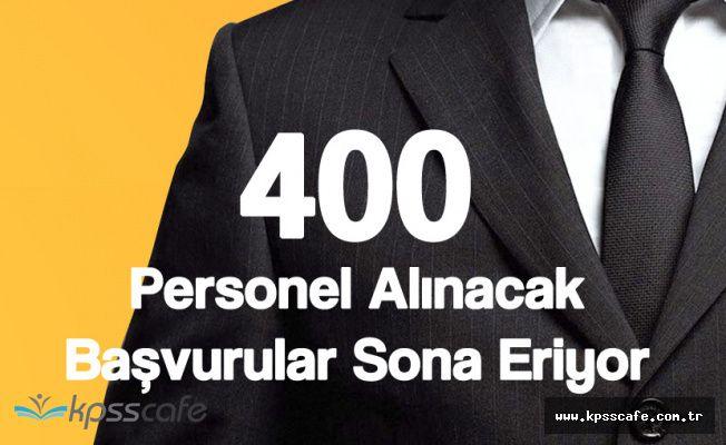 SGK 400 Personel Alımı Başvuruları Sona Eriyor (Online Başvuru İmkanı)