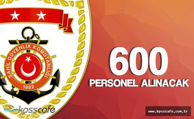 İçişleri Bakanlığı Sahil Güvenlik Komutanlığı 600 Sözleşmeli Personel Alımı Başvuruları Sona Eriyor