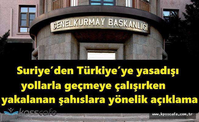 Türk Silahlı Kuvvetleri O Görüntüler Hakkında Açıklamada Bulundu!