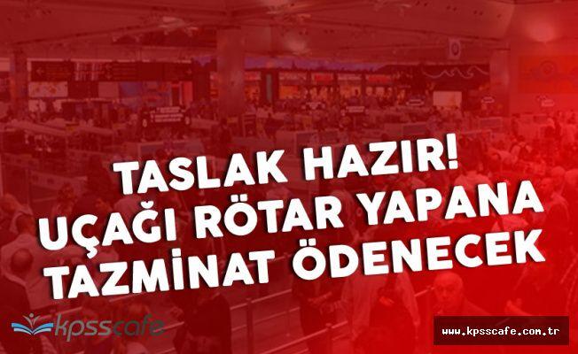 Uçağı Rötar Yapana 1800 Lira Tazminat Ödenecek