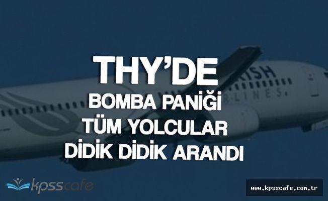 THY Uçağında 'Bomba' Konuşması Panik Yarattı! Olan Diğer Yolculara Oldu