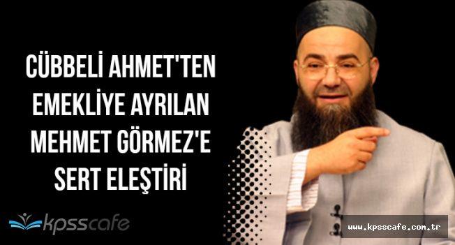 Ahmet Mahmut Ünlü'den Mehmet Görmez'e Sert Eleştiri