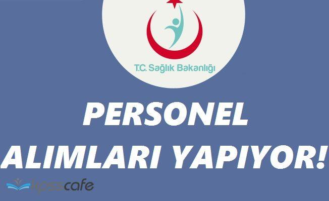 Sağlık Bakanlığı Türkiye Halk Sağlığı Kurumu Farklı Pozisyonlara Personel Alımları Yapacak