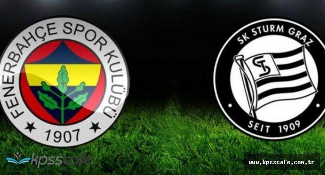 Fenerbahçe Sturm Graz Maçı Hangi Kanalda , Saat Kaçta? (Şifresiz Veren Kanal Var mı?)