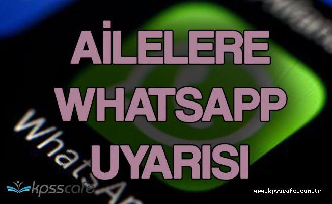 Çocukların Whatsapp Gruplarında Korkunç Mesajlar