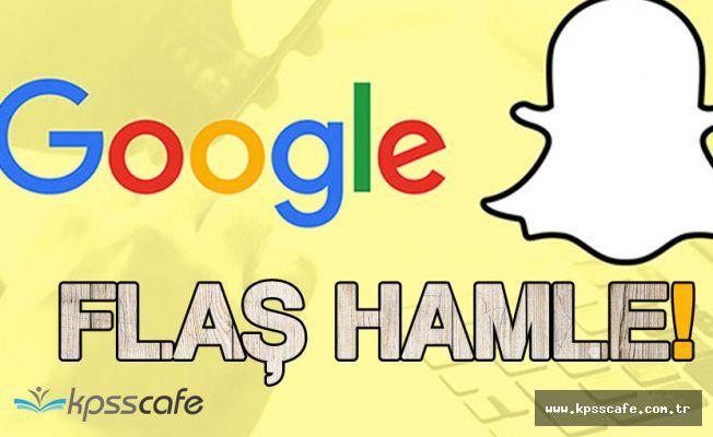 Google Snapchat'ı Satın Almaya Hazırlanıyor