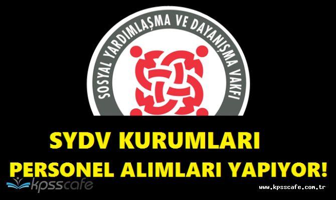 Farklı SYDV Kurumlarına Sosyal Yardım ve İnceleme Görevlisi Alımında Son Saatler! / Dolgun Maaş