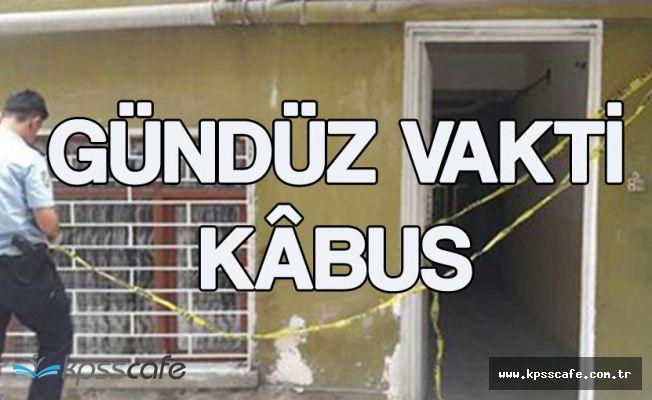 Ankara Yenimahalle'de Dehşet ! Karısını Diri Diri Yakmaya Çalıştı