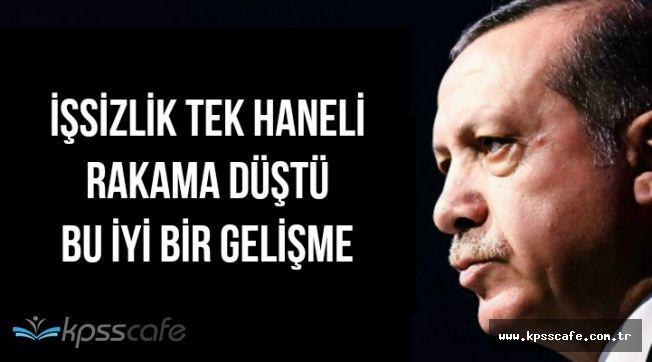 Cumhurbaşkanı Erdoğan'dan İşsizlik ve Ekonomik Büyüme Açıklaması