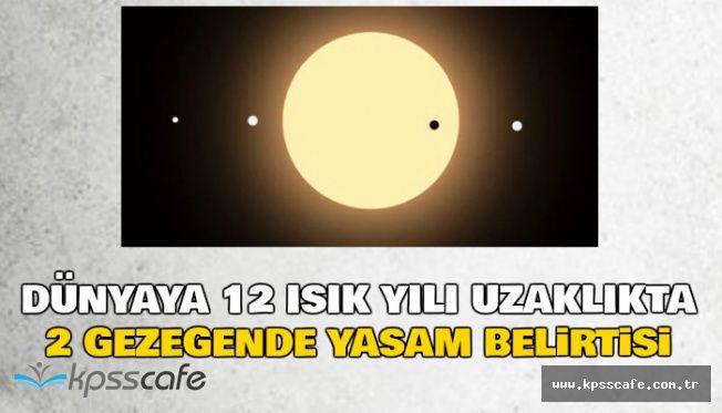 12 Işık Yılı Uzaklıktaki Tau Ceti'nin Yörüngesinde 2 Gezegende Yaşam Belirtisi