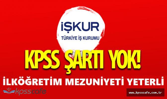 Farklı Belediye Başkanlıklarına En Az İlköğretim Mezunu Personel Alımı (KPSS ŞARTI YOK)