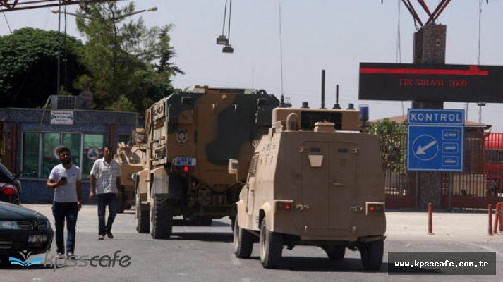 Suriye Sınırında Sıcak Saatler! Askeri Araç Hareketliliği Arttı