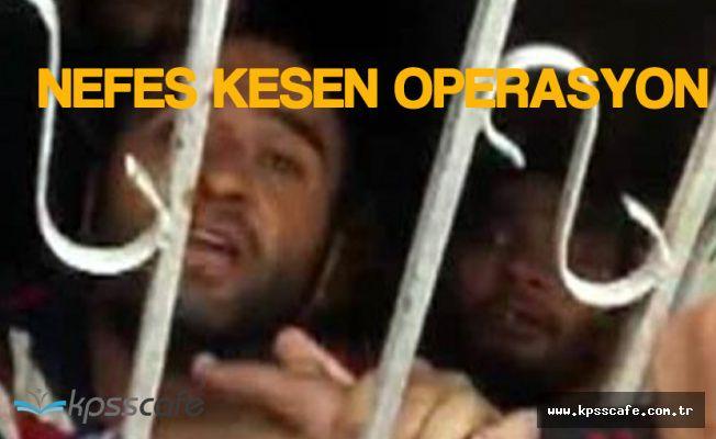 Zeytinburnu'nda Nefes Kesen Operasyon! Rehineler Gözyaşları İçerisinde Kurtuldu