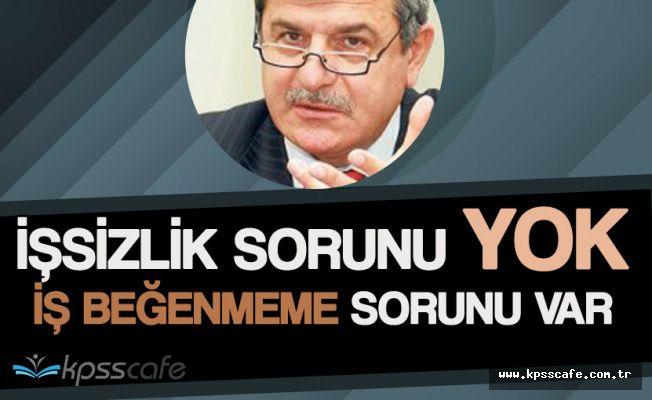 """Belediye Başkanı Karaosmanoğlu : """"İşsizlik Yok! İş Beğenmiyorlar"""""""