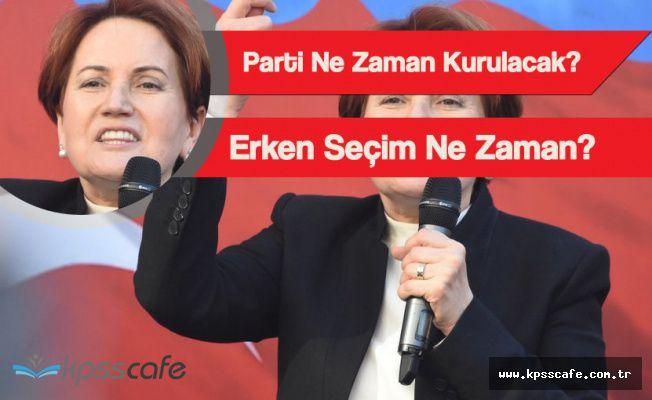 Meral Akşener'den Yeni Parti ve Erken Seçim Açıklaması
