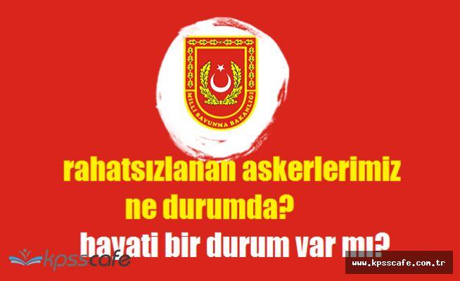 Milli Savunma Bakanlığı'ndan Sivas'ta Rahatsızlanan 31 Askerimize İlişkin Kritik Açıklama!