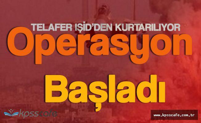 Türkmen Kenti Telafer'e Operasyon Başladı
