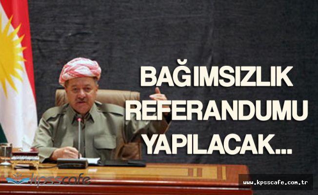 """IBKY Başkanı Barzani"""" Bağımsızlık Referandumu Ertelenmeyecek"""""""