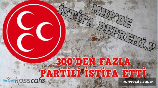 MHP'de Bir İstifa Depremi Daha: 300'den Fazla Partili İstifa Etti