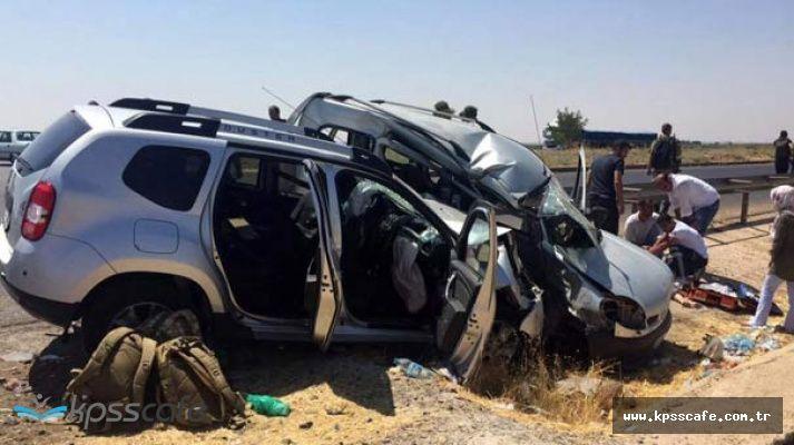Şanlıurfa'dan Kahreden Haber ! Rütbeli Askerlerin Aracı Kaza Yaptı 2 Ölü 7 Yaralı