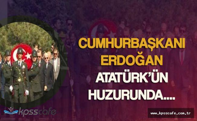 Cumhurbaşkanı Erdoğan, Gazi Mustafa Kemal Atatürk'ün Huzurunda