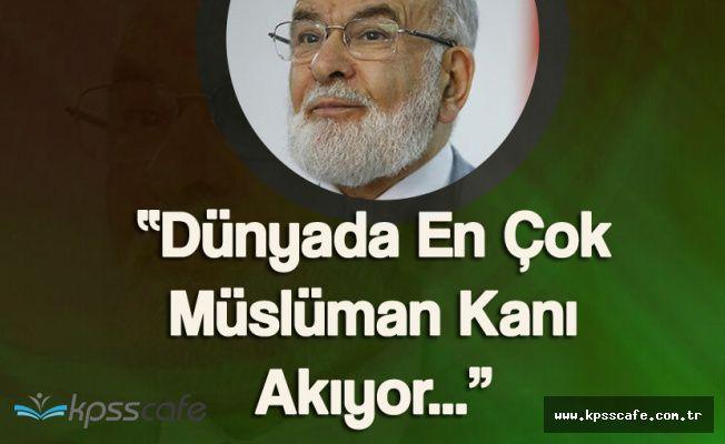 Saadet Partisi Genel Başkanı Karamollaoğlu'ndan 'Arakan Çağrısı'