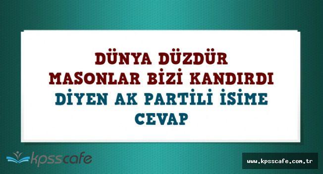 Ahmet Hakan'dan Tolgay Demir'in Dünya Düzdür İfadesine Cevap